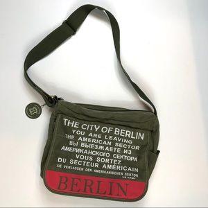 Robin Ruth City of Berlin US Army Messenger Bag